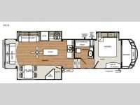 Floorplan - 2016 Forest River RV Sandpiper Select 34CK