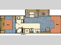 Floorplan - 2004 Gulf Stream RV Conquest Classic 6316 Q