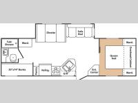 Floorplan - 2007 Keystone RV Summerland 2950 BH