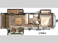 Floorplan - 2016 Open Range RV Light LF297RLS