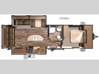 Floorplan - 2016 Open Range RV Light LT272RLS