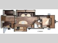 Floorplan - 2016 Open Range RV Light LT308BHS