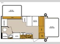 Floorplan - 2016 Forest River RV Surveyor 191T