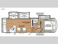 Floorplan - 2016 Forest River RV Wildcat 282RKX