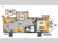 Floorplan - 2016 Forest River RV Wildcat Maxx 24RG