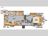 Floorplan - 2016 Forest River RV Wildcat Maxx 28RKX