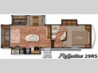 Floorplan - 2016 Grand Design Reflection 29RS