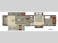 Floorplan - 2016 Yellowstone RV Canyon Trail 36FBQS Advanced Profile