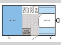 Floorplan - 2016 Jayco Jay Series Sport Hardwall 12H