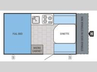Floorplan - 2016 Jayco Jay Series Sport Hardwall 12HSB