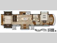 Floorplan - 2016 Grand Design Solitude 375RE
