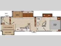 Floorplan - 2016 Coachmen RV Chaparral Lite 30BHS
