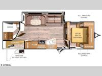 Floorplan - 2015 Cruiser Radiance R-27BHSL