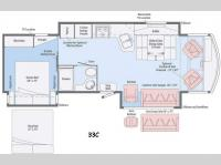 Floorplan - 2016 Winnebago Sightseer 33C