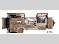 Floorplan - 2016 Highland Ridge RV Open Range 3X 349RLS