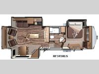 Floorplan - 2016 Highland Ridge RV Open Range Roamer RF345RLS
