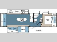 Floorplan - 2016 Dutchmen RV Denali 325RL