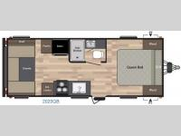 Floorplan - 2016 Keystone RV Summerland 2020QB