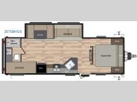 Floorplan - 2016 Keystone RV Summerland 2670BHGS