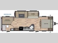 Floorplan - 2016 Keystone RV Summerland 2820BHGS