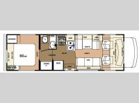 Floorplan - 2007 Forest River RV Sunseeker 2900
