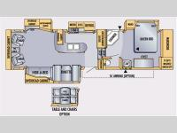 Floorplan - 2007 Jayco Eagle 341 RLQS