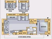 Floorplan - 2007 Jayco Eagle 288 RLS