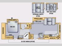 Floorplan - 2007 Jayco Eagle 322 FKS