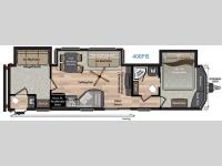 Floorplan - 2016 Keystone RV Residence 406FB
