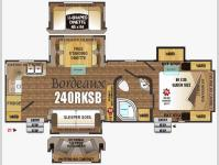 Floorplan - 2016 Outdoors RV Black Stone 240RKSB