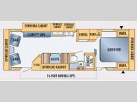 Floorplan - 2007 Jayco Jay Feather LGT 29 N