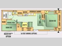 Floorplan - 2007 Jayco Jay Flight 27 BH