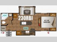 Floorplan - 2016 Outdoors RV Timber Ridge 230RBI