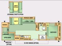 Floorplan - 2007 Jayco Jay Flight 29 FBS