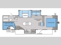 Floorplan - 2016 Jayco Jay Flight 29BHDS