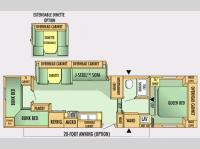 Floorplan - 2007 Jayco Jay Flight 30.5BHS