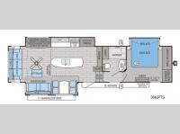 Floorplan - 2016 Jayco Pinnacle 36KPTS