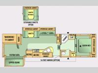Floorplan - 2007 Jayco Jay Flight 31.5BHDS