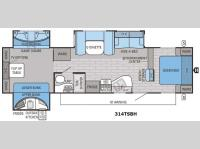 Floorplan - 2016 Jayco Eagle 314TSBH