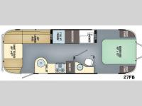 Floorplan - 2016 Airstream RV Flying Cloud 27FB