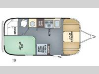 Floorplan - 2016 Airstream RV International Serenity 19