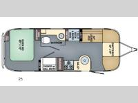 Floorplan - 2016 Airstream RV International Serenity 25