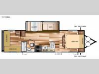 Floorplan - 2016 Forest River RV Salem Cruise Lite 272QBXL