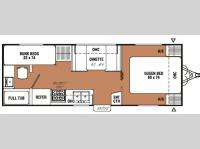 Floorplan - 2007 Coachmen RV Spirit of America 24 TBQ