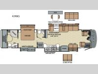 Floorplan - 2016 Entegra Coach Anthem 42RBQ