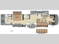 Floorplan - 2016 Entegra Coach Cornerstone 45B