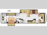Floorplan - 2016 Newmar Canyon Star 3710