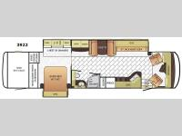 Floorplan - 2016 Newmar Canyon Star 3922