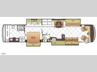 Floorplan - 2016 Newmar Dutch Star 4369