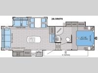 Floorplan - 2016 Jayco Eagle HT 28.5RSTS